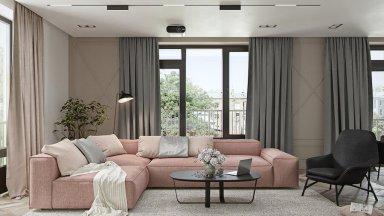 Độc đáo đầy cá tính với mẫu thiết kế nội thất căn hộ 60m2