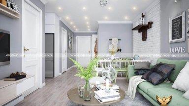 Những nguyên tắc VÀNG trong thiết kế nội thất chung cư 80m2 bạn cần nhớ