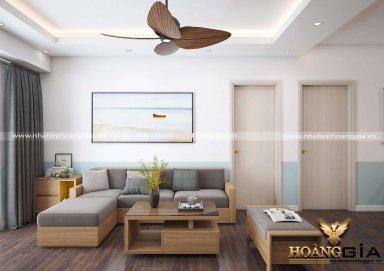 Mẫu thiết kế nội thất chung cư hiện đại tại khu đô thị Đại Mỗ (Hà Nội)