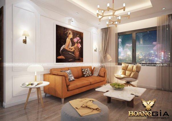 Dự án thiết kế nội thất chung cư nhà anh Tuấn