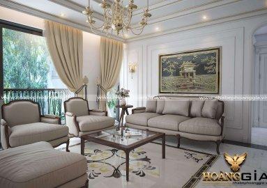 Thiết kế biệt thự nhà chị Huệ ở Hà Nam