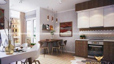 Các mẫu thiết kế nội thất nhà chung cư 100m2 đẹp nhất 2019