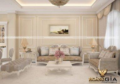 Khám phá xu hướng thiết kế nội thất nhà phố tân cổ điển đẹp, sang trọng