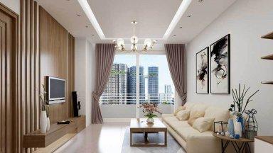 9 Mẫu thiết kế nội thất phòng khách nhỏ đẹp, đầy đủ tiện nghi