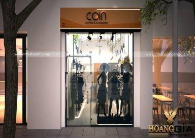 Mẫu thiết kế nội thất showroom thời trang ấn tượng