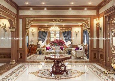 Cảm hứng thiết kế nội thất biệt thự tân cổ điển đẳng cấp