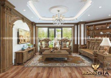 Mẫu thiết kế nội thất tân cổ điển sang trọng đầy đẳng cấp