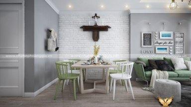 Bật mí công thức thiết kế phòng khách kết hợp với phòng ăn đầy thu hút