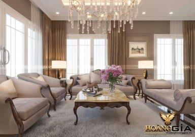 Mẫu thiết kế nội thất phòng khách phong cách Christopher Guy đầy đẳng cấp