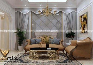 Những mẫu phong cách thiết kế nội thất cổ điển phòng khách đang được yêu thích nhất hiện nay