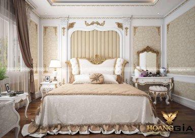 Mẫu thiết kế phòng ngủ tân cổ điển Luxury kiêu sa đầy lôi cuốn