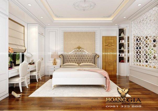 Dự án thiết kế thi công nội thất tân cổ điển nhà anh chị Thùy Diện (Thanh Oai, Hà Nội)