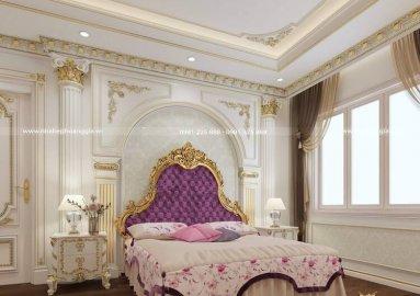 Dự án thiết kế nội thất tân cổ điển dát vàng nhà anh Thanh (Royal City)