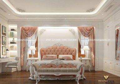 Gợi ý mẫu thiết kế phòng ngủ tân cổ điển tinh tế, thanh lịch