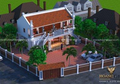 Dự án thiết kế thi công kiến trúc nội thất nhà thờ họ