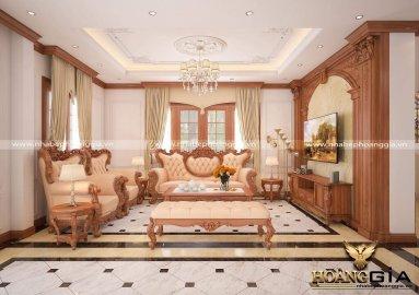Dự án thiết kế thi công nội thất biệt thự nhà chị Hằng (Vinhomes Riverside, Long Biên)