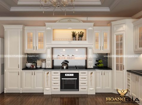 Tư vấn thiết kế thi công tủ bếp tại Bắc Ninh uy tín