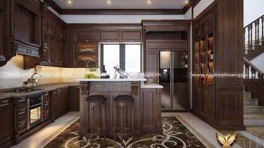 Địa chỉ thiết kế thi công tủ bếp tại Hà Giang chuyên nghiệp