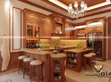 Đơn vị thiết kế thi công tủ bếp tại Hải Phòng uy tín, chất lượng