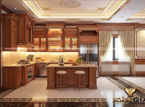 Đơn vị thiết kế thi công tủ bếp tại Lạng Sơn uy tín