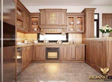 Địa chỉ thiết kế thi công tủ bếp tại Thái Bình chất lượng nhất
