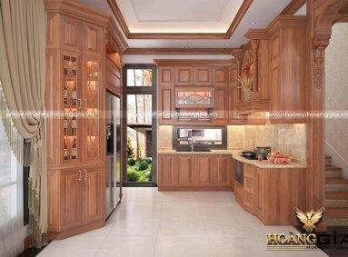 Dịch vụ thiết kế thi công tủ bếp tại Thanh Hóa uy tín
