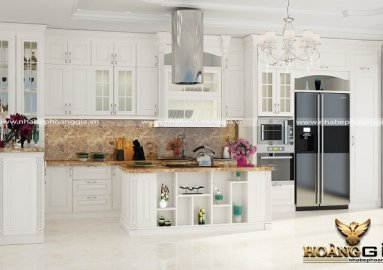 Tư vấn thiết kế tủ bếp kịch trần đẹp hoàn mỹ
