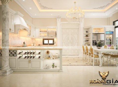 Thiết kế thi công tủ bếp tại Sơn La uy tín nhất