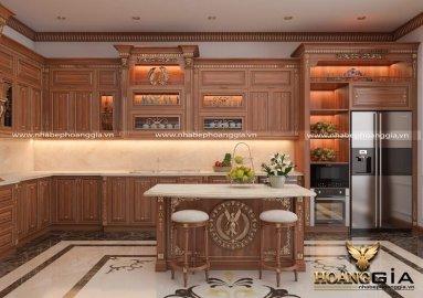 Những điều cần biết trong thiết kế tủ bếp tân cổ điển