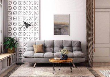 Ý tưởng trang trí phòng khách chung cư thoáng mát đơn giản nhất