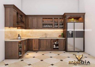 Làm tủ bếp gỗ sồi nga hay tủ bếp gỗ sồi mỹ?