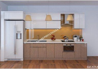 Mẫu tủ bếp Laminate 08