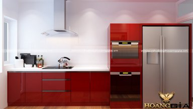 Vì sao bạn nên chọn tủ bếp gỗ acrylic cao cấp?