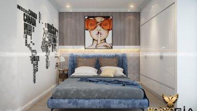 Ý tưởng thiết kế phòng ngủ 30m2 sang trọng và hiện đại