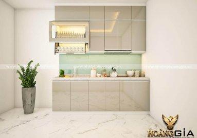 Ý tưởng thiết kế tủ bếp đẹp vừa túi tiền